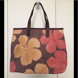NWOT Liz Claiborne Shopper Tote Bag Floral